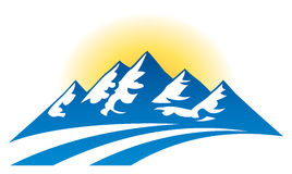 Mountain Range Logo