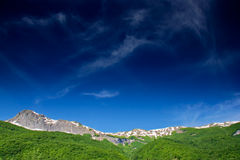 Mountain range in Macedonia Stock Photography