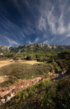 Mountain range on Majorca Royalty Free Stock Photos
