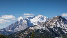 Mountain Range Marmolata, Dolomites Royalty Free Stock Photo