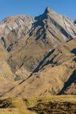 Mountain range in Mount Aspiring National Park Royalty Free Stock Images