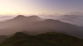 Mountain range Royalty Free Stock Photo