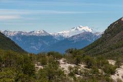 Mountain range in Nahuel Huapi National Park. Argentina Stock Photo