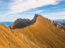 Mountain range near Pilatus Stock Image