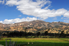 Mountain Range in Northern Peru Royalty Free Stock Image
