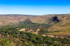 Mountain range in outback Australia. Stock Photos