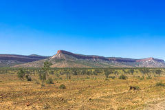 Mountain range in outback Australia. Stock Images