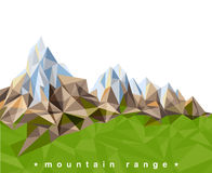 Mountain range Stock Photography