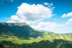 Mountain range Royalty Free Stock Photos