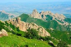 The mountain range Royalty Free Stock Photo