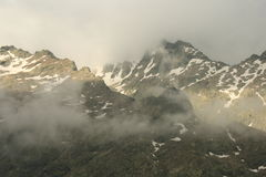 Mountain range in Sierra de Gredos Stock Image
