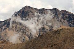 Mountain range in Sierra Nevada National Park Stock Photos