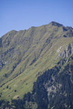 Mountain range in the Stubai Valley in Tyrol, Austria Royalty Free Stock Images