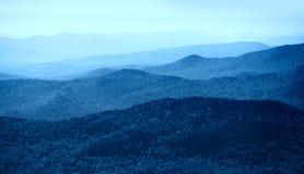 Mountain range in Vermont Royalty Free Stock Image