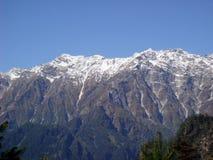 Mountain range view. Picture of m ountain range Royalty Free Stock Photo