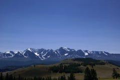 Mountain range view Royalty Free Stock Photography