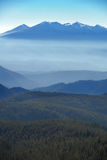 Mountain range vista Royalty Free Stock Image
