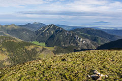 Mountain range in the Western Tatras Royalty Free Stock Photography