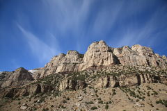 Mountain Range - Wyoming Royalty Free Stock Images
