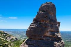 Mountain ranges of  Montserrat Royalty Free Stock Image
