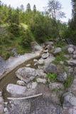 Mountain ravine Royalty Free Stock Photography
