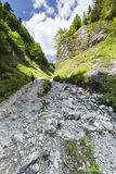 Mountain ravine Stock Photos