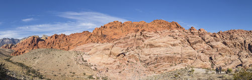 Mountain in Red Rock Canyon National Conservation Stock Photography