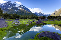 Mountain Reflection Stock Photo