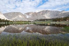 Mountain Reflection Royalty Free Stock Photos