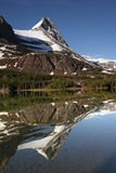 Mountain reflection Stock Image