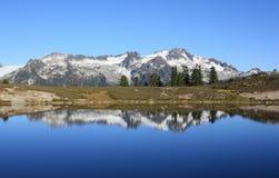 Mountain Reflection. Royalty Free Stock Image
