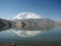 Mountain reflection Stock Photos