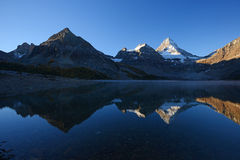 Mountain reflection Royalty Free Stock Image