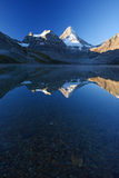 Mountain reflection Stock Images