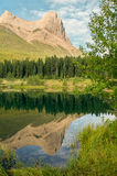 Mountain reflection, Ha LIng Peak Royalty Free Stock Photos