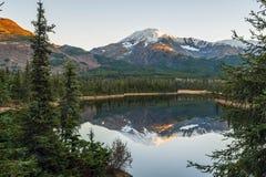 Mountain reflection Stock Photography