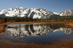 Mountain Reflection II Stock Photo