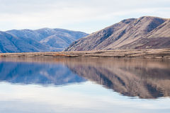 Mountain Reflection, Lake Clearwater Stock Photography