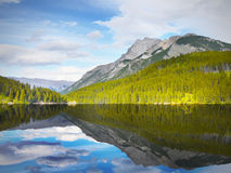 Mountain Reflection In Lake Royalty Free Stock Images