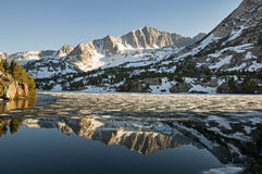 Mountain Reflection Stock Photography