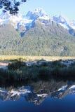 Mountain reflection 9410 Royalty Free Stock Photo