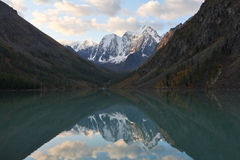 Mountain Reflections Stock Photography