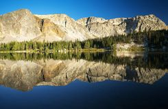 Mountain Reflections at Mirror Lake royalty free stock image