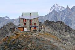 Mountain Refuge stock image