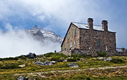 Mountain refuge in Neouvielle Massif of French Pyrenees Stock Photography