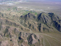 Mountain region of Nevada Royalty Free Stock Image