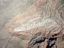 Mountain region of Nevada Royalty Free Stock Images