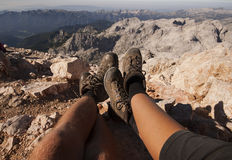 Mountain relax Stock Images