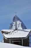 Mountain and religion Royalty Free Stock Photos