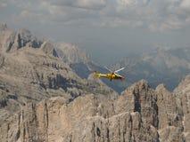 Mountain rescue Stock Photography